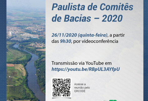 Comitês de Bacias paulistas se reúnem na próxima quinta-feira