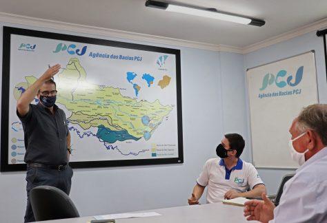 Luciano Almeida se reúne na sede da Agência e dos Comitês PCJ para traçar ações