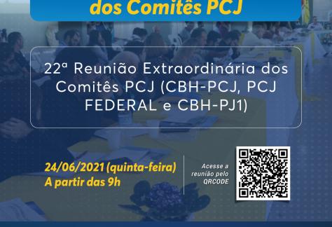 Comitês PCJ definem critérios para a aplicação de recursos entre 2022 e 2025