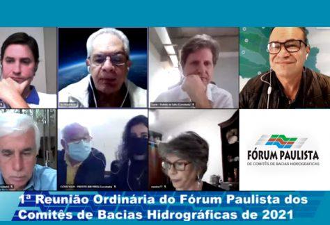 CBH-AT assume coordenação do Fórum Paulista de Comitês