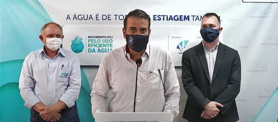 Sergio Razera, Luciano Almeida e Alexandre Vilela